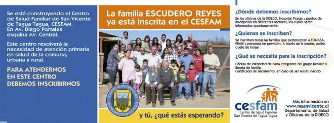 Inscríbete en el CESFAM
