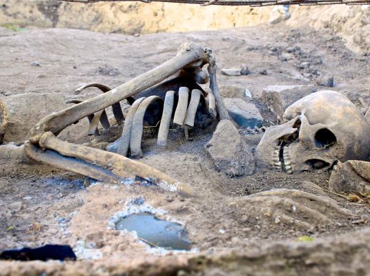 10.000 años de historia en Cementerio de Cuchipuy