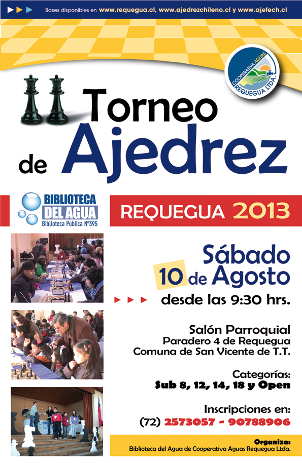 Torneo de Ajedrez Requegua 2013
