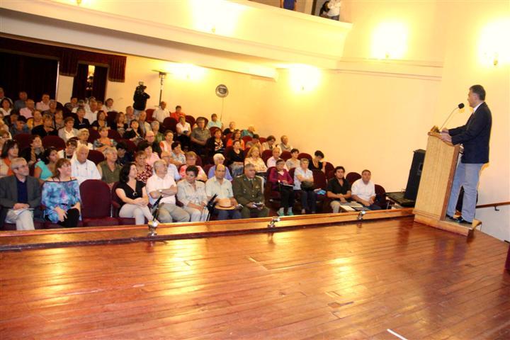 Lanzamiento del Fondo Nacional del Adulto Mayor 2015