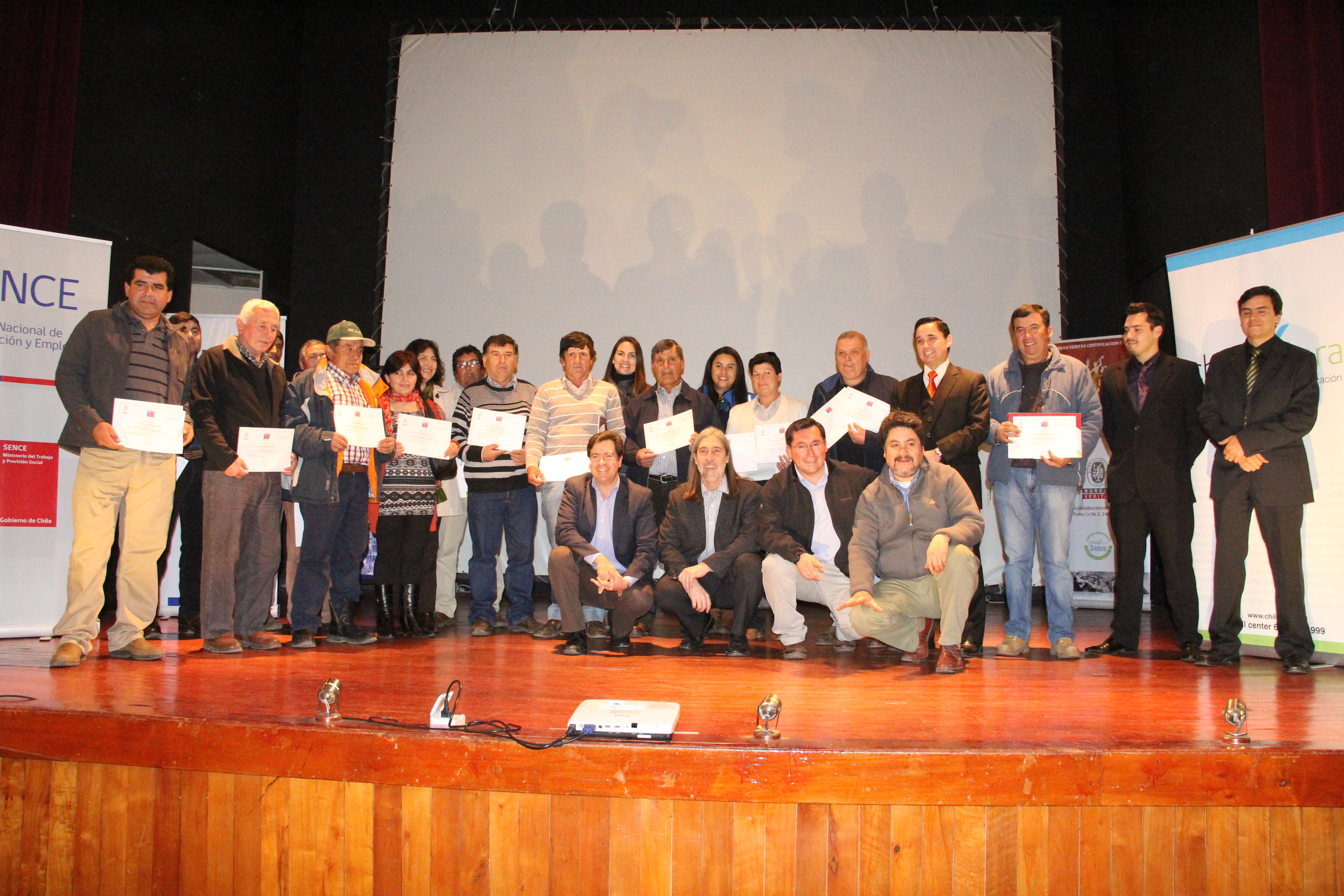 """Ceremonia de Certificación Competencias Laborales """"Agricultura Familiar Campesina"""""""