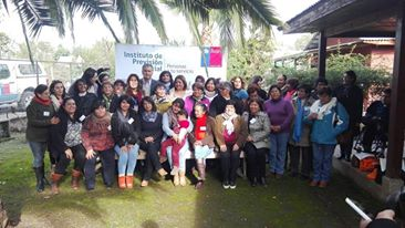 IPS dicta taller de género para mujeres rurales en San Vicente TT.