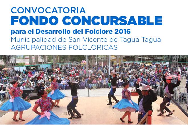 CONVOCATORIA FONDO CONCURSABLE PARA EL DESARROLLO DEL FOLCLORE 2016