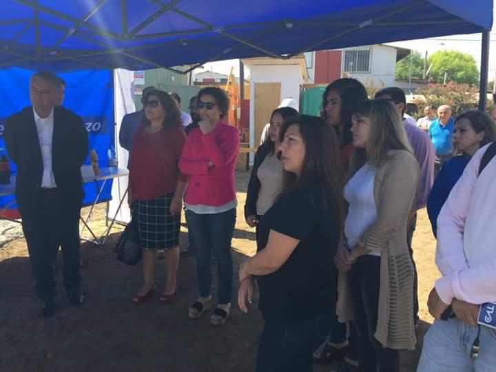 Alcalde Jaime González Ramírez junto a representantes de JUNJI visitan en terreno el avance de los trabajos