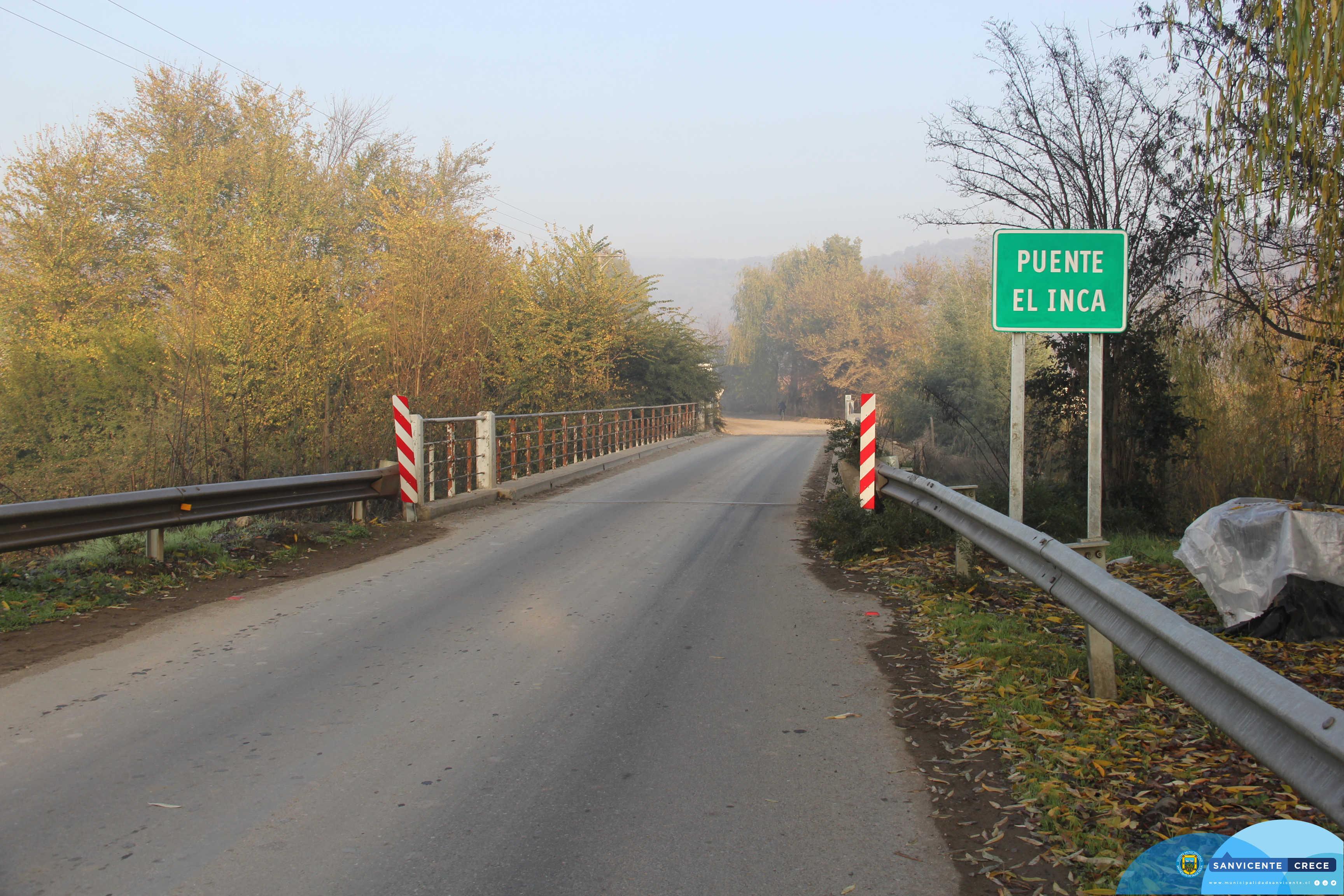 Proyecto de Pavimentación Ruta H830 entre Puente El Inca y puente La Laguna