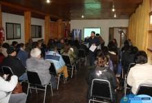 ORGANIZACIONES COMUNITARIAS PARTICIPARON DE REUNIÓN INFORMATIVA FONDEVE 2017