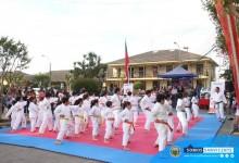 CAMPEÓN MUNDIAL DE KARATE VISITA SAN VICENTE