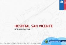 PRESENTACIÓN PROYECTO: NUEVO HOSPITAL PARA SAN VICENTE