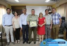 CONCEJO MUNICIPAL DESPIDE Y RECONOCE AL MAYOR DE CARABINEROS