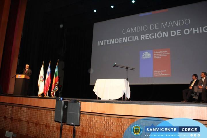 ALCALDE JAIME GONZÁLEZ, ASISTE A CAMBIO DE MANDO REGIONAL