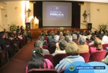 ALCALDE JAIME GONZÁLEZ PRESENTÓ A LA COMUNIDAD LA CUENTA PÚBLICA GESTIÓN AÑO 2017