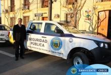 PRIMERA CAMIONETA DE SEGURIDAD PÚBLICA