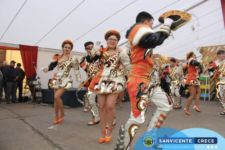 La religiosidad en la Feria Cultural y Artesanal de Invierno San Vicente 2018