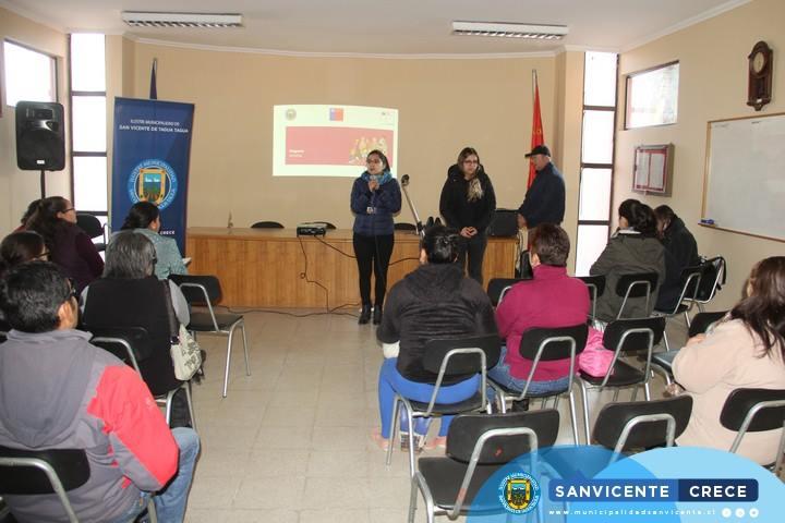 2ª Sesión Socio Comunitaria FOSIS - Programa Familias del Subsistema de Seguridades y Oportunidades