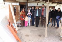 ENTREGA DE EQUIPAMIENTO A FAMILIAS SAN VICENTANAS