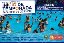 Piscina Municipal Temporada 2019