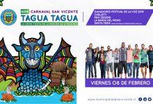 VIERNES 8 DE FEBRERO, Carnaval 2019