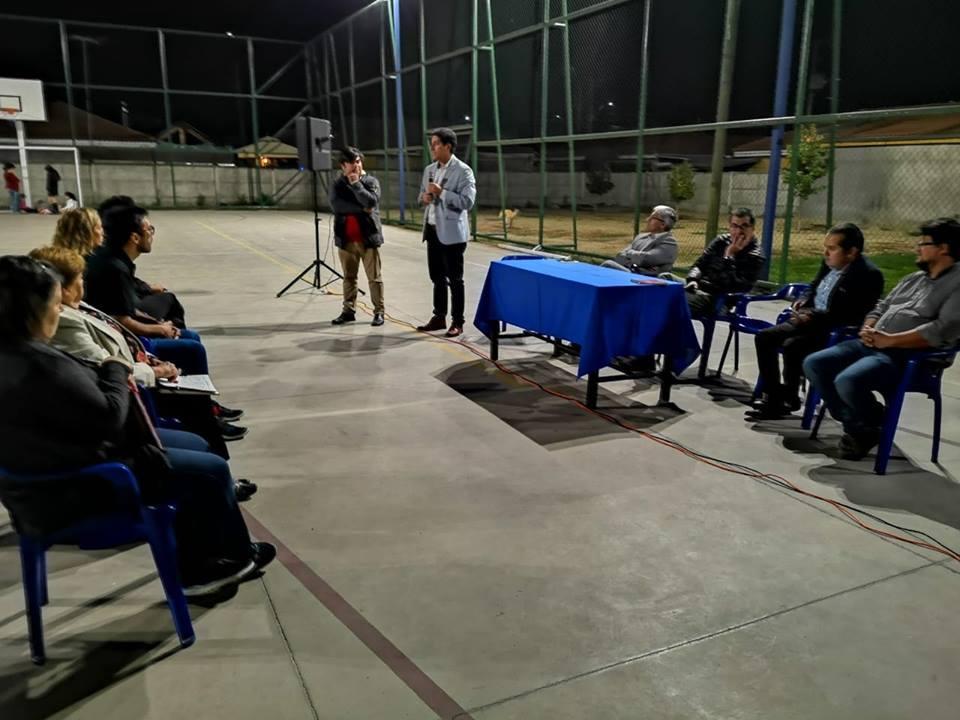 MESA DE TRABAJO EN VILLA NAPOLI Y EL PROGRESO