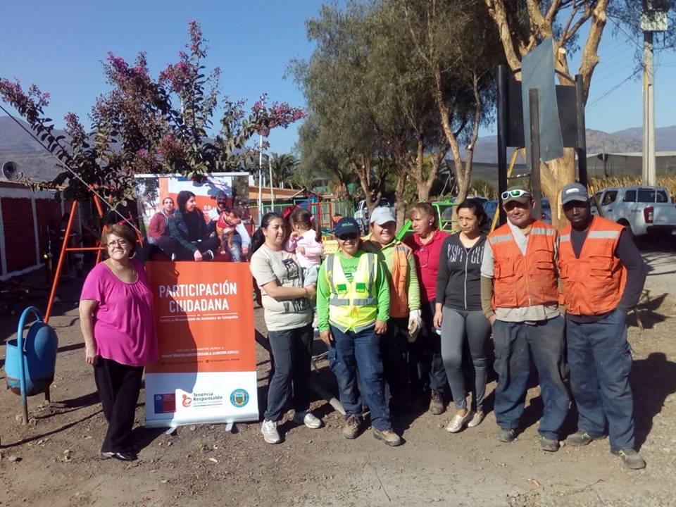 Operativo de limpieza y retiro de escombros en Villa la Dehesa de Rastrojos