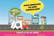 LA PRIMERA CUOTA DEL DERECHO DE ASEO DOMICILIARIO