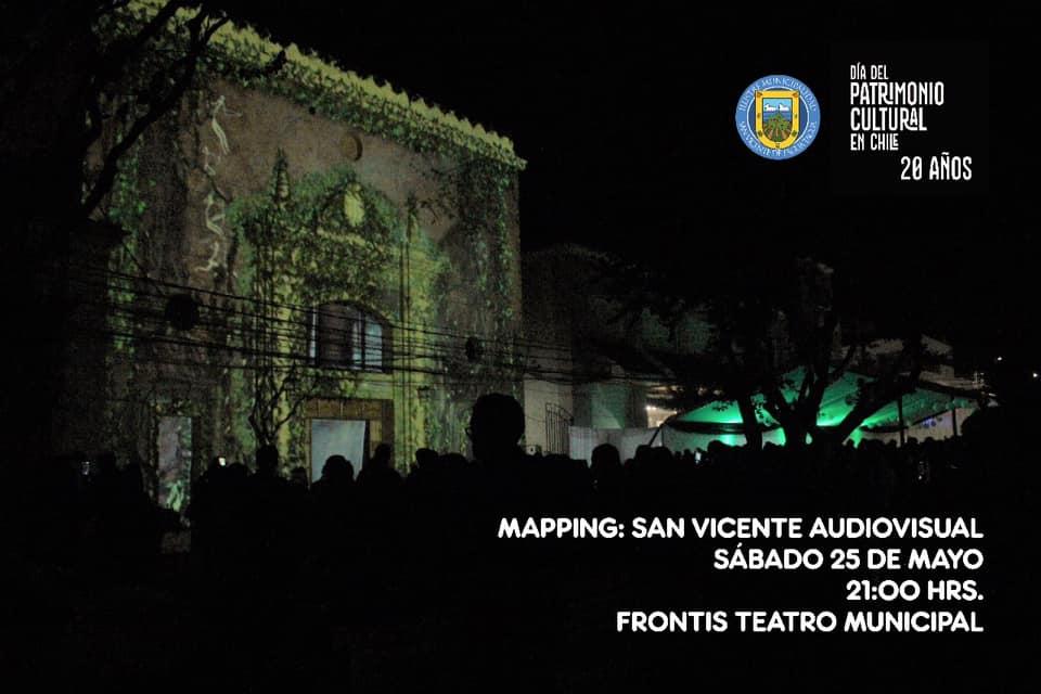 """MAPPING: El Arte De La Proyección """"UN REGALO PARA SAN VICENTE"""""""