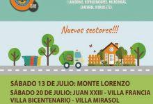 PLAN DE RECOLECCIÓN DE ELECTRODOMÉSTICOS EN DESUSO Y MATERIAL RECICLABLE 2019 MES DE JULIO
