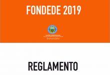 REGLAMENTO SUBVENCIÓNMUNICIPAL ORDINARIA  FONDEDE 2019