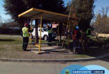 EXITOSOS OPERATIVOS DE ASEO Y RETIRO DE MATERIALES EN DESUSO EN SAN VICENTE