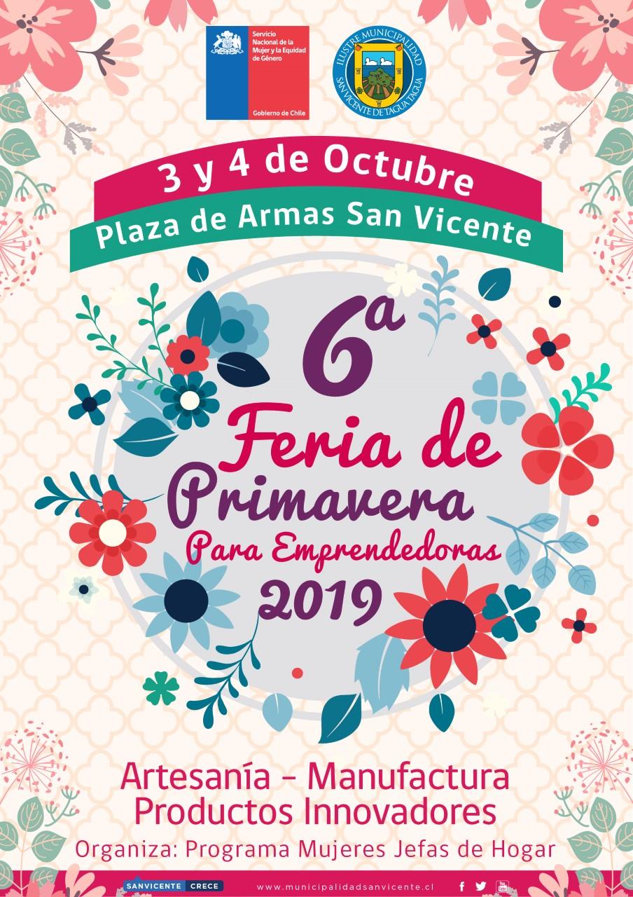 VI FERIA DE LA PRIMAVERA 2019
