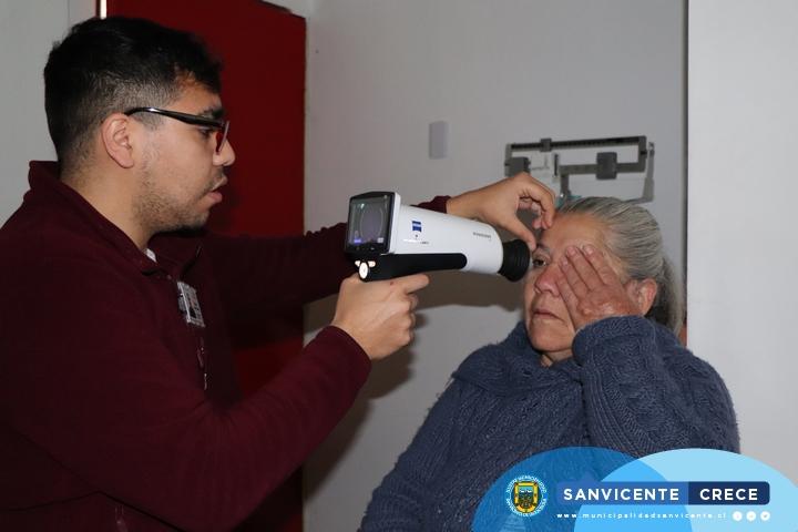 OPERATIVO DE ATENCIÓN OFTALMOLÓGICA EN LA POSTA DE EL MANZANO
