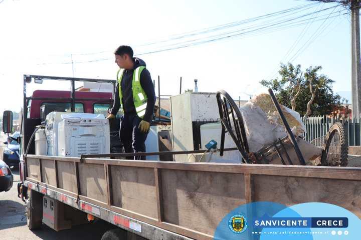 #AHORA | PROGRAMA MUNICIPAL DE RETIRO DE ELECTRODOMÉSTICOS Y MATERIAL EN DESUSO VILLAS DEL SUR