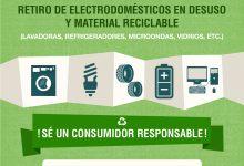 OPERATIVO DE RECOLECCIÓN DE ELECTRODOMÉSTICOS Y MATERIAL EN DESUSO