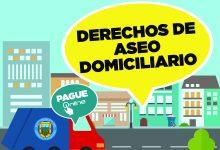 PAGO TERCERA CUOTA DERECHOS DE ASEO DOMICILIARIO