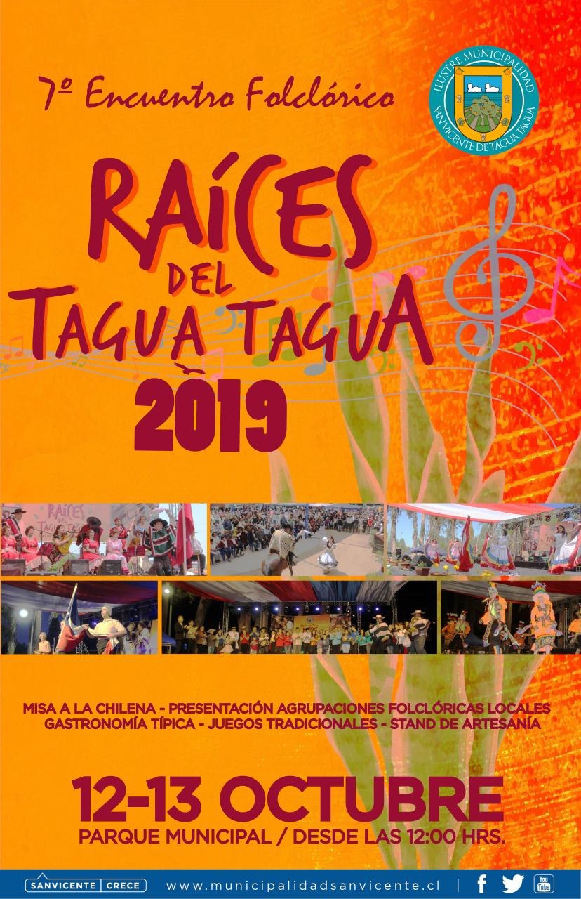 7º ENCUENTRO RAÍCES DEL TAGUA TAGUA 2019