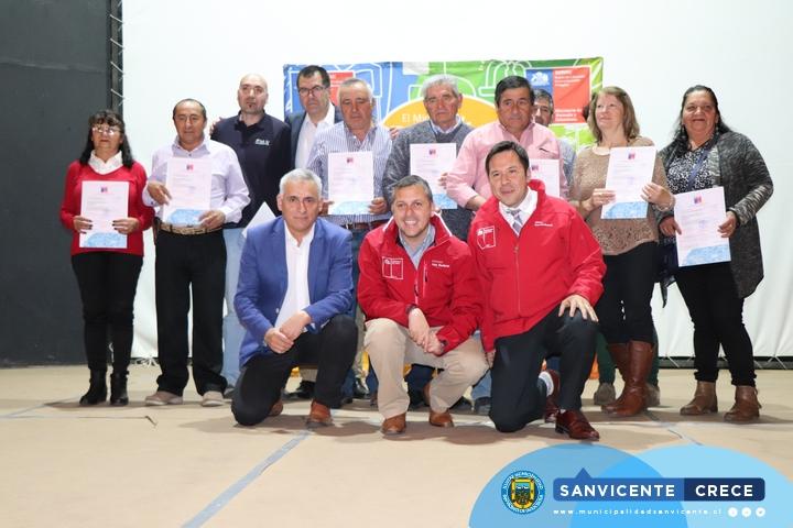 CEREMONIA ENTREGA DE SUBSIDIOS DE COLECTORES SOLARES