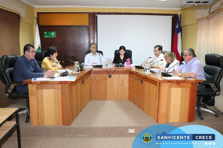 CONCEJO MUNICIPAL APRUEBA PROYECTOS FONDEVE PARA 30 JUNTAS DE VECINOS DE SAN VICENTE