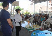 TALLER DE COCINA SALUDABLE CON ADULTOS MAYORES DE SAN VICENTE
