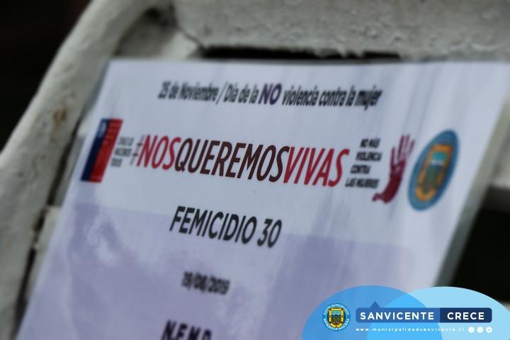 INTERVENCIÓN URBANA POR EL DÍA INTERNACIONAL DE LA ELIMINACIÓN DE LA VIOLENCIA CONTRA LA MUJER