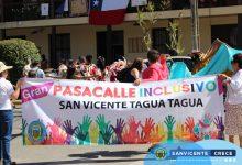 GRAN PASACALLE INCLUSIVO EN SAN VICENTE