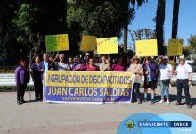 AGRUPACIÓN DISCAPACIDAD JUAN CARLOS SALDÍAS VIAJA A MARCHA POR DÍA INTERNACIONAL DE LAS PERSONAS CON DISCAPACIDAD