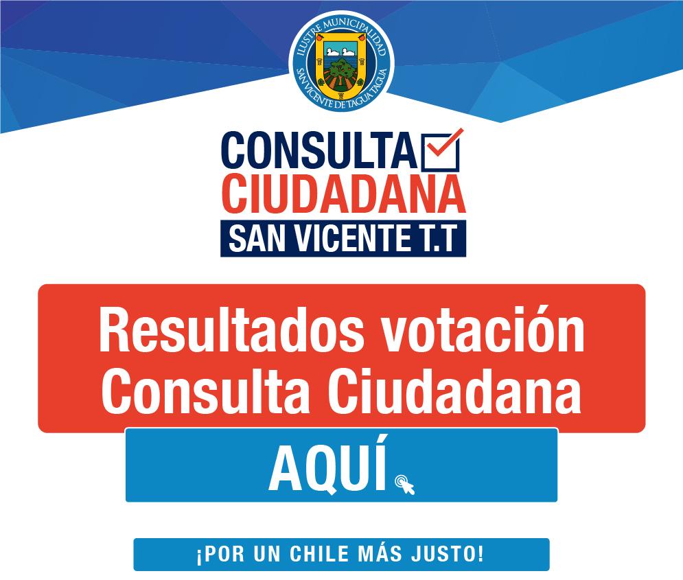 YA PUEDES REVISAR EL INFORME DE RESULTADOS CONSULTA CIUDADANA 2019