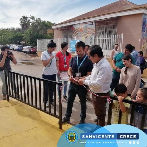 INAUGURACIÓN PUNTO LIMPIO EN EL HOSPITAL DE SAN VICENTE DE TAGUA TAGUA