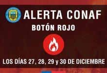 #ATENCIÓN   ALERTA CONAF BOTÓN ROJO PARA SAN VICENTE