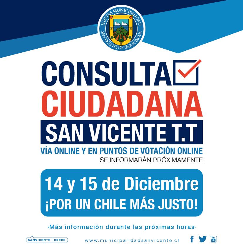 ATENCIÓN SANVICENTANOS | CONSULTA CIUDADANA SAN VICENTE 2019