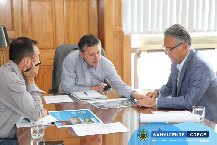 ALCALDE JAIME GONZÁLEZ SE REÚNE CON INTENDENTE REGIONAL PARA TRATAR TEMAS DE INTERÉS COMUNAL