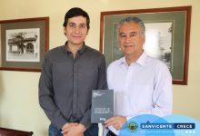 ALCALDE JAIME GONZÁLEZ SE REÚNE CON DIRECTOR REGIONAL DE FUNDACIÓN SUPERACIÓN DE LA POBREZA