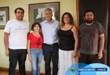 ALCALDE JAIME GONZÁLEZ SE REUNIÓ CON DIRIGENTES DEL CD EL CÓNDOR DE LA ORILLA DE PENCAHUE Y JJVV DEL SECTOR