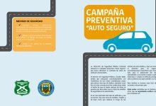 """CAMPAÑA PREVENTIVA DIRECCIÓN COMUNAL DE SEGURIDAD PÚBLICA: """"AUTO SEGURO"""""""