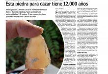 #LasÚltimasNoticias| PALEONTÓLOGOS ESTUDIAN HALLAZGOS ARQUEOLÓGICOS EN SAN VICENTE DE TAGUA TAGUA
