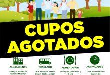 CUPOS AGOTADOS PROGRAMA TURISMO FAMILIAR VICHUQUÉN 2020